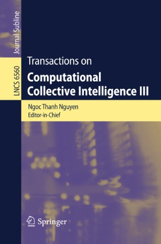 Transactions on Computational Collective Intelligence III (Lecture