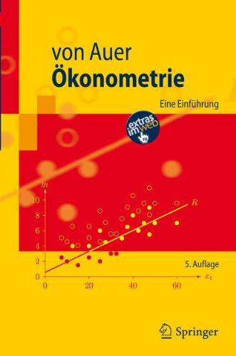 9783642199943: Ökonometrie: Eine Einführung