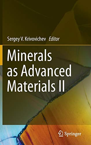 Minerals as Advanced Materials II: PROF. DR. S