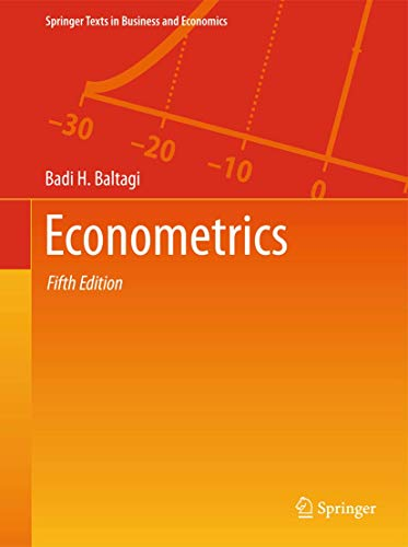 9783642200588: Econometrics (Springer Texts in Business and Economics)