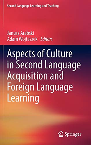 9783642202001: Aspects of Culture in Second Language Acquisition and Foreign Language Learning (Second Language Learning and Teaching)