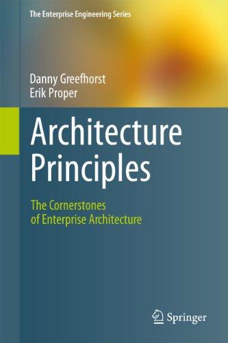 9783642202780: Architecture Principles: The Cornerstones of Enterprise Architecture (The Enterprise Engineering Series)