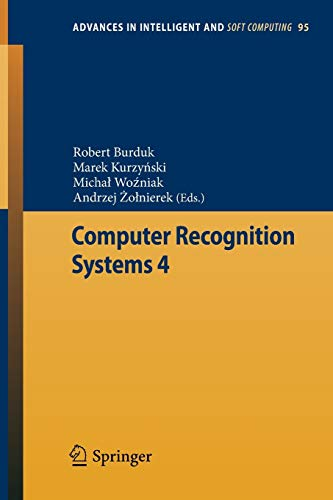 Computer Recognition Systems 4: Robert Burduk