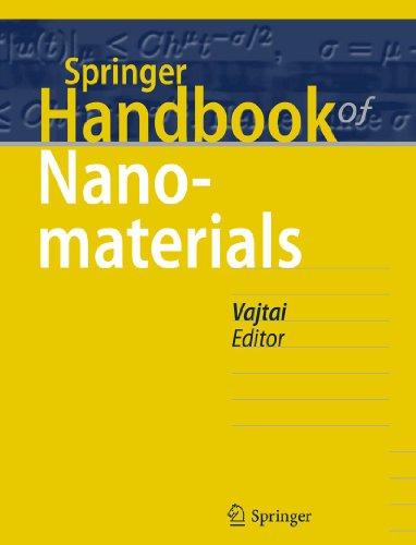 Springer Handbook of Nanomaterials: Robert Vajtai