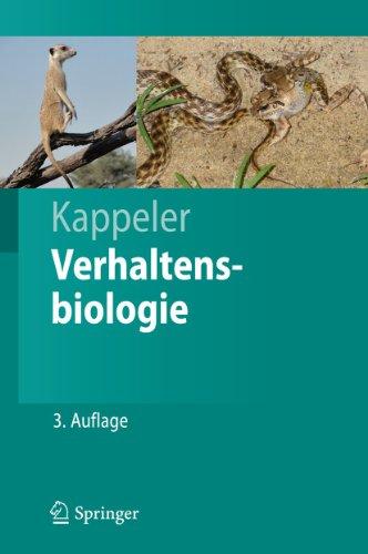 9783642206528: Verhaltensbiologie (Springer-Lehrbuch) (German Edition)