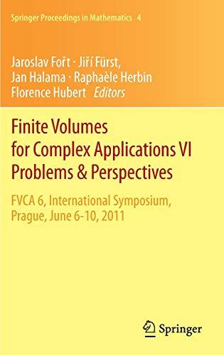 Finite Volumes for Complex Applications VI: Jaroslav Fort (editor),