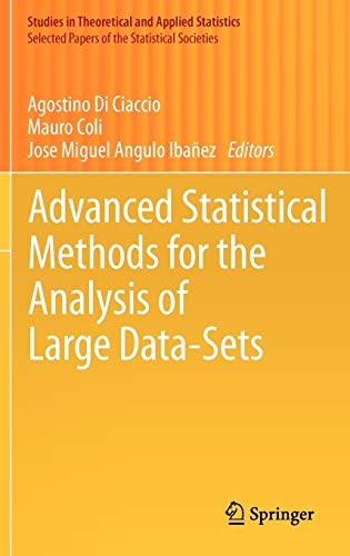 Advanced Statistical Methods for the Analysis of Large Data-Sets