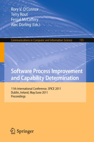 9783642212321: Software Process Improvement and Capability Determination: 11th International Conference, SPICE 2011, Dublin, Ireland, May 30 - June 1, 2011. ... in Computer and Information Science)