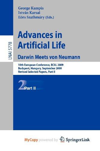 9783642213151: Advances in Artificial Life: 10th European Conference, ECAL 2009, Budapest, Hungary, September 13-16, 2009, Revised Selected Papers