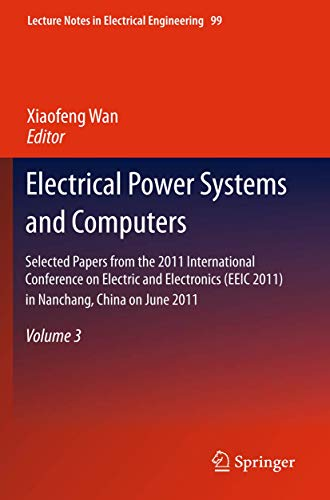 Electrical Power Systems and Computers: Xiaofeng Wan