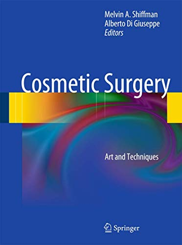 Cosmetic Surgery (Hardcover): Melvin A Shiffman