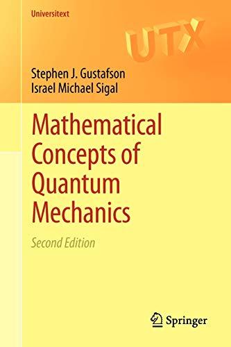 9783642218651: Mathematical Concepts of Quantum Mechanics (Universitext)