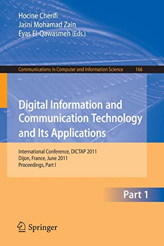 Digital Information and Communication Technology and Its Applications: International Conference, ...