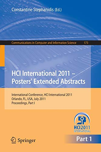 HCI International 2011 Posters' Extended Abstracts: International Conference, HCI ...