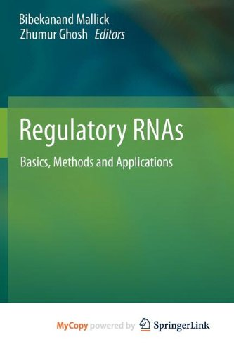 9783642225185: Regulatory RNAs: Basics, Methods and Applications