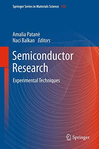 Semiconductor Research: Experimental Techniques (Springer Series in Materials Science)