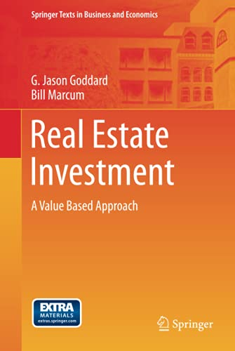 9783642235269: Real Estate Investment: A Value Based Approach (Springer Texts in Business and Economics)