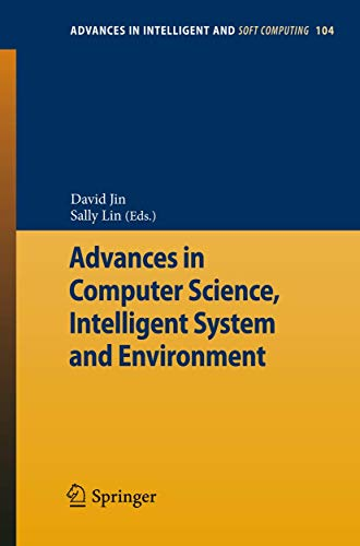Advances in Computer Science, Intelligent Systems and Environment: David Jin