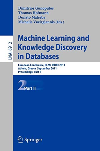 Machine Learning and Knowledge Discovery in Databases, Part II: European Conference, ECML PKDD 2010...