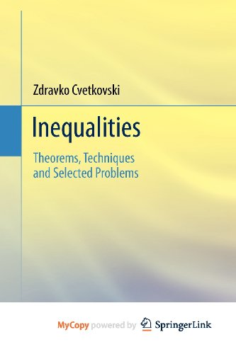 9783642237935: Inequalities: Theorems, Techniques and Selected Problems