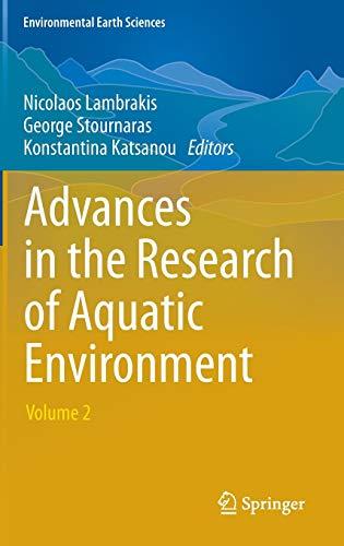 Advances in the Research of Aquatic Environment 2: Nicolaos Lambrakis