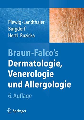 9783642241628: Braun-Falco's Dermatologie, Venerologie und Allergologie (German Edition)