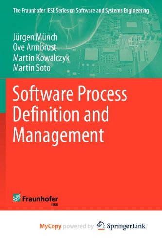 9783642242922: Software Process Definition and Management