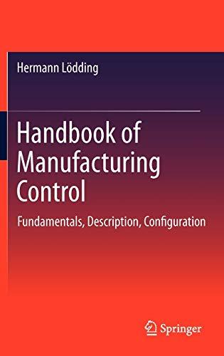 Handbook of Manufacturing Control: Hermann Lödding