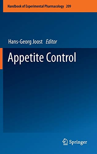 Appetite Control: Hans-Georg Joost
