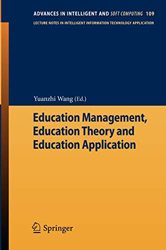 Education Management, Education Theory and Education Application: Yuanzhi Wang