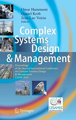 Complex Systems Design & Management: Omar Hammami
