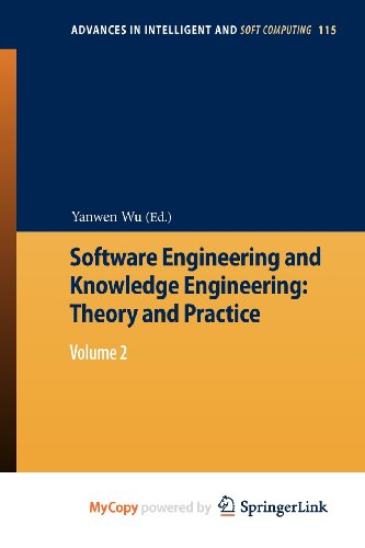 9783642253508: Software Engineering and Knowledge Engineering: Theory and Practice : Volume 2