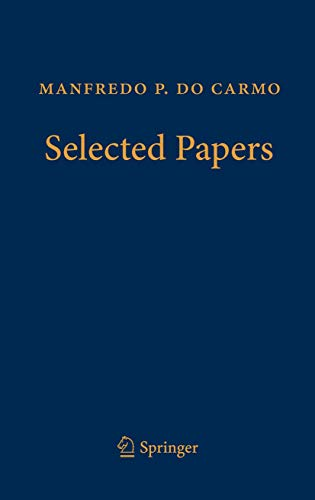 9783642255878: Manfredo P. do Carmo – Selected Papers