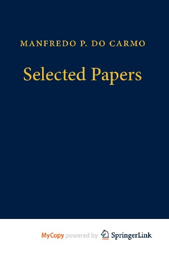 9783642255892: Manfredo P. do Carmo - Selected Papers