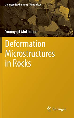 9783642256073: Deformation Microstructures in Rocks (Springer Geochemistry/Mineralogy)