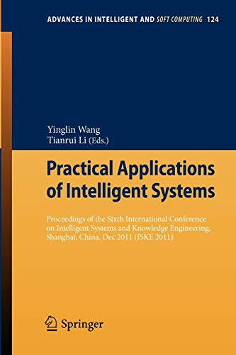 Practical Applications of Intelligent Systems Proceedings of the Sixth International Conference on ...