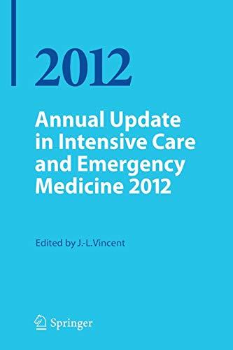 9783642257155: Annual Update in Intensive Care and Emergency Medicine 2012