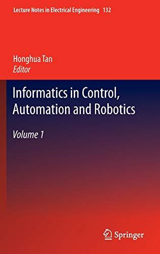 Informatics in Control, Automation and Robotics: Honghua Tan