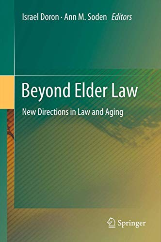 9783642259715: Beyond Elder Law: New Directions in Law and Ageing