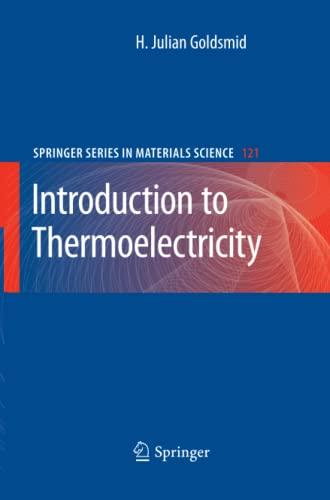 9783642260926: Introduction to Thermoelectricity (Springer Series in Materials Science)