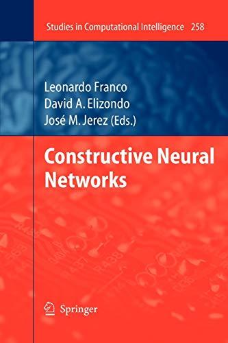 9783642261084: Constructive Neural Networks (Studies in Computational Intelligence) (Volume 258)