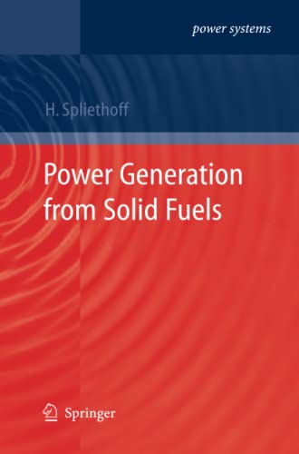 9783642263088: Power Generation from Solid Fuels (Power Systems)