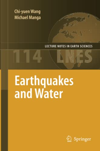 9783642263248: Earthquakes and Water (Lecture Notes in Earth Sciences)
