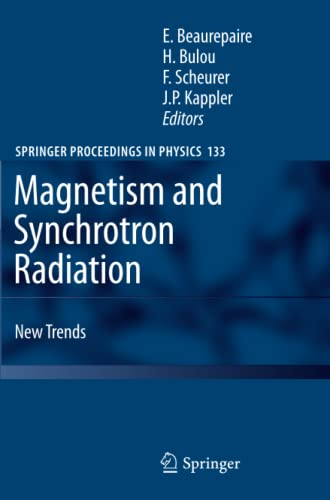 9783642263361: Magnetism and Synchrotron Radiation: New Trends (Springer Proceedings in Physics)