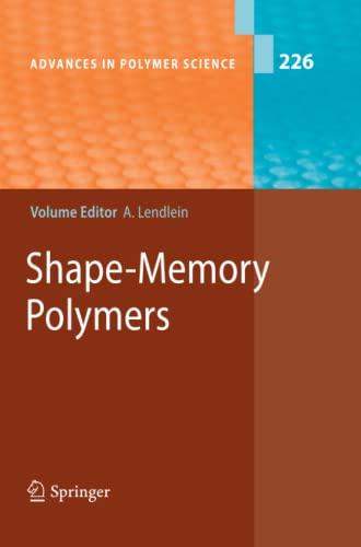 9783642263736: Shape-Memory Polymers (Advances in Polymer Science)