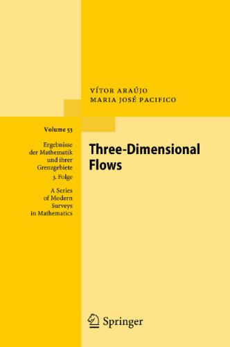 Three-Dimensional Flows: V�tor Araújo