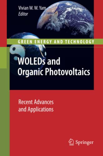 9783642266058: WOLEDs and Organic Photovoltaics: Recent Advances and Applications (Green Energy and Technology)