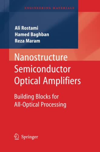 9783642266065: Nanostructure Semiconductor Optical Amplifiers: Building Blocks for All-Optical Processing (Engineering Materials)