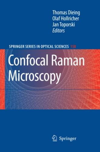 9783642266829: Confocal Raman Microscopy (Springer Series in Optical Sciences)
