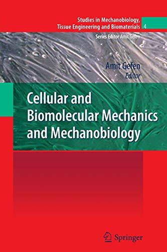 9783642267260: Cellular and Biomolecular Mechanics and Mechanobiology (Studies in Mechanobiology, Tissue Engineering and Biomaterials)
